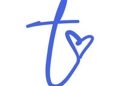 t-heart icon in color